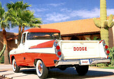 1957 Dodge D100 Sweptline pickup truck, Refrigerator Magnet, 40 MIL