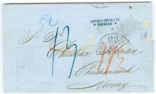 HABANA/NORWAY: Cover to Norway 1864, scarce.