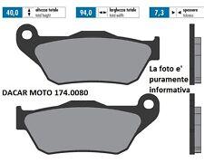 174.0080 PLAQUETTE DE FREIN ORIGINAL POLINI YAMAHA Pour MAX 250 - Pour Max 250 i