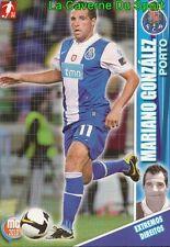 084 MARIANO GONZALEZ ARGENTINA FC.PORTO INTER CARD MEGACRAQUES 2010 PANINI