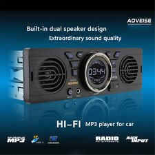 Car Audio Stereo In Dash AM FM Aux Input Receiver with SD USB MP3 Radio Player