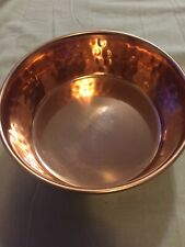 New listing Boots & Barkley Copper Finish Stainless Steel 4 Cup Dog Bowl New