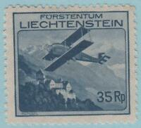 LIECHTENSTEIN C4 MINT HINGE REMNANT OG * NO FAULTS VERY FINE !