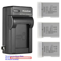 Kastar Battery Slim Charger for Nikon EN-EL14a MH-24 & Nikon D3200 DSLR Camera