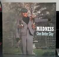 """Madness One Better Day - Poster Sleeve 7"""" vinyl single record UK BUY201 STIFF"""