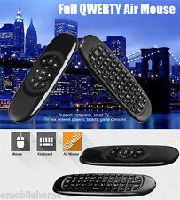 TK668 2.4GHz Wireless Air Mouse Remote Control QWERTY Keyboard LED Indicator