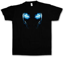 MARK II ARMOR EYES T-SHIRT - Tony Stark Iron Arc Reactor Sign III 3 Man T-Shirt