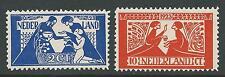 1923TG Nederland Toorop  NR.134-135  postfris, mooie serie!!