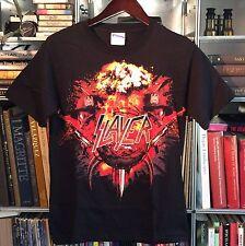 SLAYER World Tour USA 2010   - Men's T Shirt - Licensed Merchandise