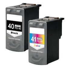 2PK Canon PG-40 CL-41 Ink Cartridge For PIXMA MP450 MP460 MP470 MX300 MX310