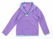 Crane Girls Purple   Henley Sweatshirt Size 5-6 Years