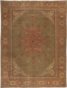 Antique Turkish Oushak Rug BB5448