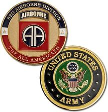 U.S. Army / Fort Bragg 82nd Airborne Division - Challenge Coin