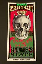 King Crimson 1995 Silkscreen Concert Poster Arminski
