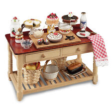 Reutter porzellan gâteau table/cake working table poupée 1:12 Art. 1.727/1