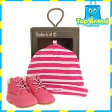 Timberland Crib Casual Booties - Girls' Infant (Pink) Baby Shoes Cute Fuschia