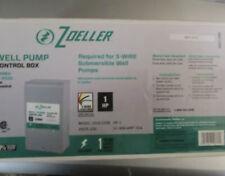 Zoeller Well Pump Control Box 230v, Model 1010-2338, 1 HP, 3-wire Ground NIB