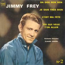 JIMMY FREY Da Dou Ron Ron FR Press Tiercé Panoram N° 2 Ticket tiercé panorama EP