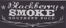 BLACKBERRY SMOKE SOUTHERN ROCK STICKER LOGO DECAL Lynyrd Skynyrd VAN GUITAR CASE