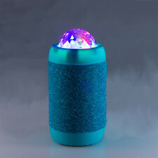 BLUE Disco Ball Wireless Bluetooth Stereo Speaker projects Coloured Lights