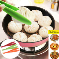 Plastic Food Tongs Barbecue Clip Food Salad Tong Kitchen Gadget Accessories t.zh