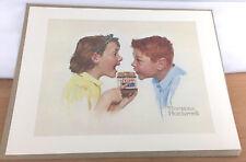 "Norman Rockwell Print Skippy Peanut Butter 12"" x 16"" Unframed on Paper"