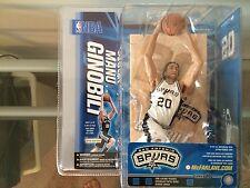 Manu Ginobili Mcfarlane NIB Series 10 NBA San Antonio Spurs Hard To Find Chase