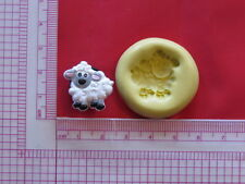 Baby Sheep Lamb Silicone Mold A915 Chocolate Fondant Miniature Baby Shower