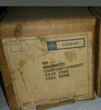 Lot of 2 GE solenoid CR9503209CAB207