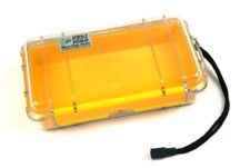Peli 1060 Micro Case - Clear with yellow Liner