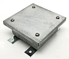 CROUSE-HINDS Explosion Proof WCB040402 Junction Overlap Pull Box Cast Iron 4x4x2