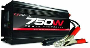 New Schumacher XI75B 750 Watt Portable Power Converter Inverter