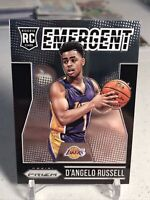 2015-16 Panini Prizm Emergent D'Angelo Russell RC #18 Wolves Lakers ROOKIE