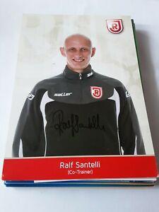 Signierte AK Ralf Santelli Jahn Regensburg NEU