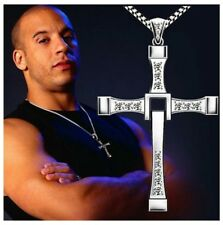 Fast And The Furious Crystal Cross Necklace, Vin Diesel