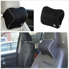 Car Seat Headrest Pad Driving Travel Head Neck Rest Memory Foam Pillow Cushion