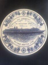 Royal Goedwaagen Blue Delft Holland America Shipping Line Inaugural WESTERDAM