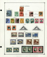 South Africa & Areas Loaded 1900's to 1990's Clean Stamp Collection