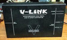 MUSICAL FIDELITY V-LINK ASYNCHRONOUS 24BIT 96KHZ USB TO SPDIF CONVERTER