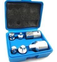 "Toolzone 6 Piece Hex Socket Reducer Adaptor Set 1/2"" 3/8"" 1/4"" 3/4"""