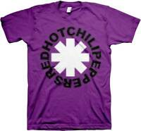 RED HOT CHILI PEPPERS PIXEL PEPPERS PURPLE BAND ROCK MUSIC TEE T SHIRT S-2XL