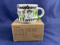 Starbucks Pennsylvania Been There Collection Ornament Demi Mug 2 oz Cheesesteak