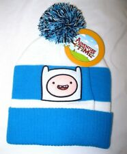 Adventure Time Finn Pom Pom Beanie Ski Hat Cap Licensed Brand New with Tags!