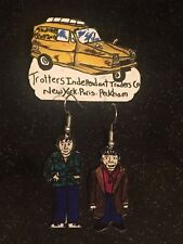 Only Fools And Horses Del Boy Rodney Earrings Robin Reliant Brooch Handmade set