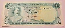 BAHAMAS 1 DOLLAR (P35a) L.1974 JI PREFIX  UNC