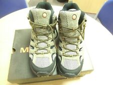 Merrell Moab 2 Leather Mid Gtx Mens Walking Boots - Pecan Size 8