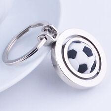 Sports Rotating Football Soccer Keychain Keyring Key Chain Ring Key Fob Ball Hot