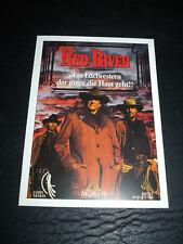 RED RIVER, film card [James Arness, Bruce Boxleitner]
