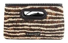 Michael Kors Rosalie Large Clutch Natural $298
