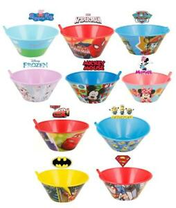 Kids Breakfast Sippy Bowls 500ML | Peppa Pig,Spiderman,Frozen,Batman & Minions